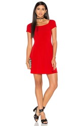 Motel Catalina Dress Red