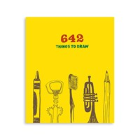 Chronicle Books 642 Things To Draw Book