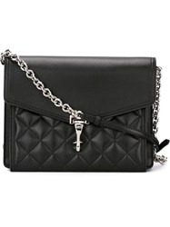 Burberry Quilted Crossbody Bag Black