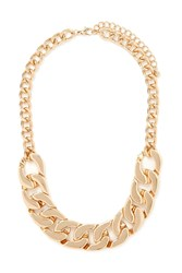 Forever 21 Chunky Curb Chain Necklace