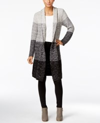 Styleandco. Style Co. Ombre Duster Cardigan Only At Macy's Grey Combo