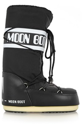 Moon Boot Pique Shell And Leather Ski Boots