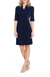 Tahari Women's Stretch Shirtdress