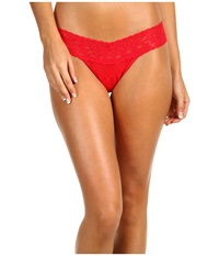 Hanky Panky Signature Lace Low Rise Thong Red Women's Underwear