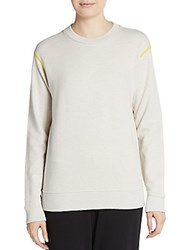 Marc By Marc Jacobs Crew Logo Graphic Sweater Moonlight