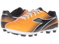 Diadora Mago R Lpu Orange Black Men's Soccer Shoes