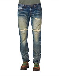 Cult Of Individuality Rocker Slim Mccoy Wash Jeans Blue