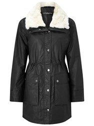 Four Seasons Hooded Padded Parka Carbon