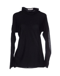 Stefanel Turtlenecks Black