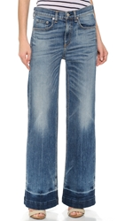 Rag And Bone The Loose Fit Wide Leg Jeans