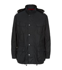 Barbour Ursula Military Jacket Male Navy