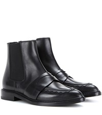 Christopher Kane Leather Ankle Boots Black