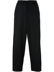 Barena Cropped Tailored Trousers Black