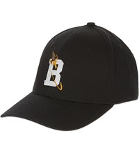 Billionaire Boys Club B Logo Flexi Fitted Cap Black