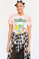 Urban Outfitters Pokemon Tie Dye Tee Orange