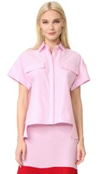 Novis Short Sleeve Blouse Pink