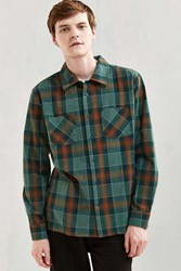 Brixton Albert Button Down Shirt Green