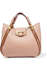 Tom Ford Sedgewick Small Textured Leather Tote Blush