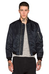 Nlst Ma 1 Flight Jacket Navy
