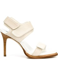 Ann Demeulemeester Stiletto Sandals White