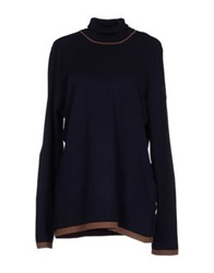 Marina Yachting Turtlenecks Dark Blue