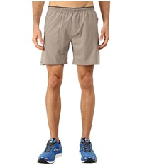 Brooks Sherpa 7 Shorts Heather Carb Men's Shorts Gray