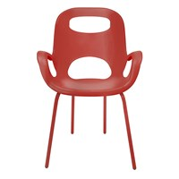 Umbra Oh Chair Red