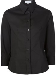 Carolina Herrera 3 4 Sleeve Classic Shirt Black