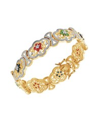 Lord And Taylor Multi Stone Cuff Bracelet