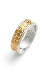 Anna Beck 'Gili' Band Ring Gold Silver
