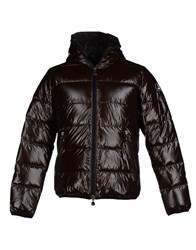 Jcolor Coats And Jackets Down Jackets Men Dark Brown