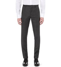 J. Lindeberg Paulie 140'S Platinum Wool Trousers Almost Black