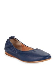 Sigerson Morrison Maylana Leather Flats Blue