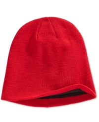 Alfani Men's Reversible Beanie Only At Macy's Red