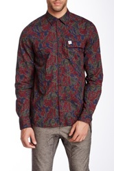 Ecko Unlimited Glen Camo Woven Shirt Red