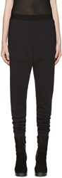 Ann Demeulemeester Black Lounge Pants