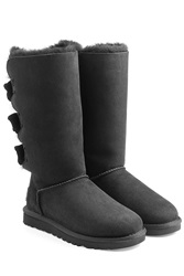 Ugg Australia Amelie Tall Suede Boots Black