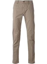 Re Hash Chino Trousers Brown