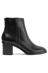 Rag And Bone Willow Studded Leather Ankle Boots Black