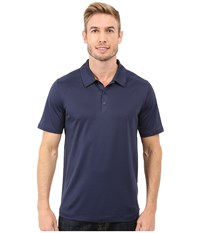 The North Face Short Sleeve Tek Hike Polo Cosmic Blue Men's Short Sleeve Knit