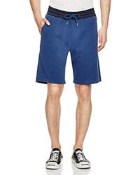 Diesel Matt Jogger Shorts Blue