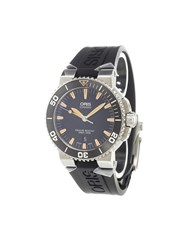 Oris 'Aquis Date' Analog Watch Stainless Steel