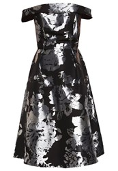 Dorothy Perkins Luxe Cocktail Dress Party Dress Metallic Silver