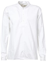 Faith Connexion Button Collar Shirt White