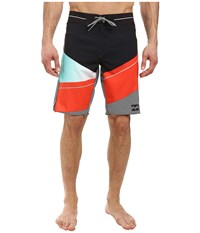 Billabong Slice X 20 Boardshorts Aqua Men's Swimwear Blue