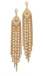 Capwell Co. Golden Gala Earrings