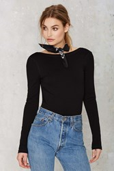 Nasty Gal Scouted Open Back Bodysuit