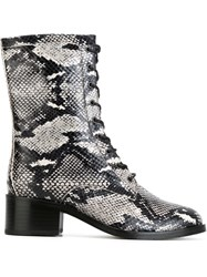 Each X Other Snakeskin Effect Boots Black