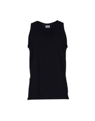 D And G Underwear Sleeveless Undershirts Black