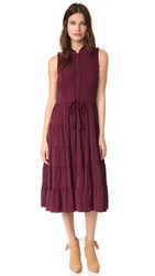 Ulla Johnson Minetta Dress Bordeaux